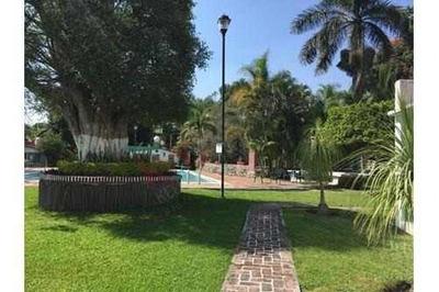 Casa En Venta, Jiutepec Morelos, En Condominio Un Nivel
