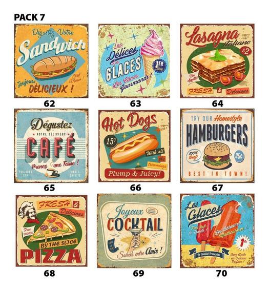 Azulejos Vinílicos Autoadhesivos Vintage Pack X 9