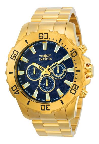 Reloj Invicta 22544 Oro Hombres
