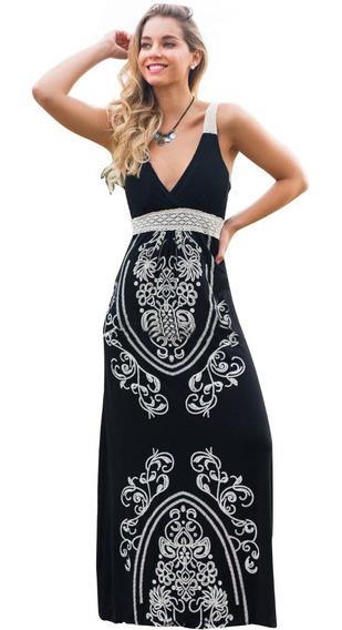 Vestido Fiesta Gala Ocio Playa 2019 Nuevo / 033111
