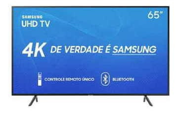 Tv 65p Samsung Led Smart 4k Wifi Usb Hdmi - Un65ru7100gxzd