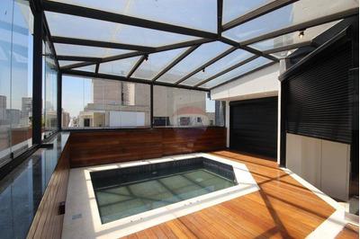 Cobertura Residencial À Venda, Moema, São Paulo. - Co0174