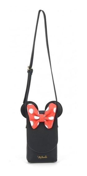 Bolsa Porta Celular Minnie Classic Bow
