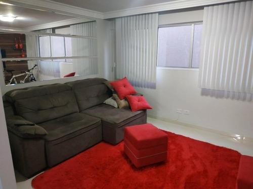 Imagem 1 de 11 de Apartamento À Venda, 2 Dormitórios, 1 Vaga De Garagem, 48m² De Área Útil, Bairro Pinheirinho. - Pr - Ap0015_waldec