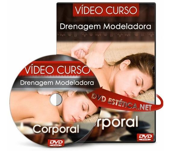 Vídeo Aula De Massagem Modeladora Drenante - Assista Online