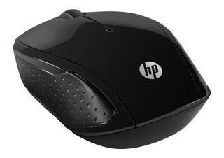 Mouse Inalámbrico Hp 200 Negro X6w31aa