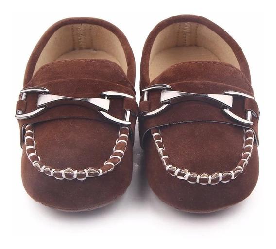 Sapato Mocassin Marrom Tam 19/infantil, Bebê