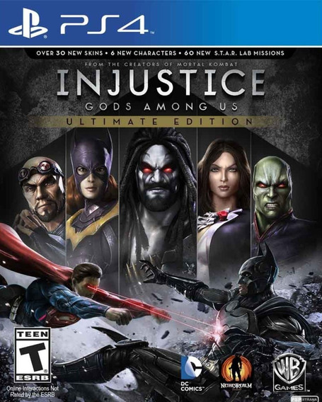 Injustice: Gods Among Us - Ultimate Edition Original 1 Ps4