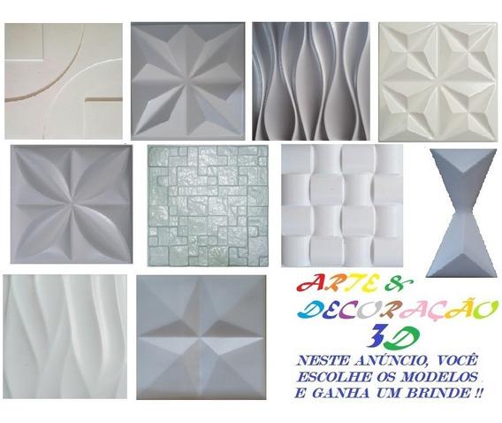 10 Formas De Abs Para Cimentício E Gesso 3d + 1 Brinde; Gr