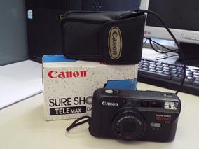 Camera 35 Mm Canon Shure Shot Telemax Date ; Como Nova !!