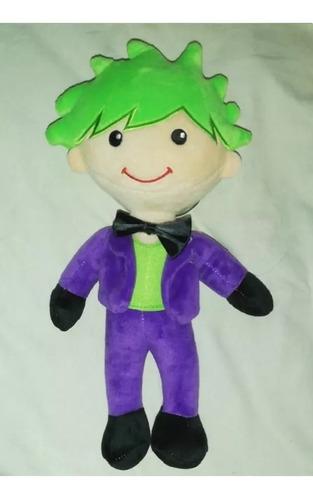 Imagen 1 de 1 de Peluche Suicide Squad Joker 29 Cm Combina + Envio Gratis