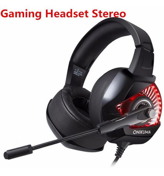 Gaming Headset Estéreo Jogo Fone De Ouvido Com Microfone Rg