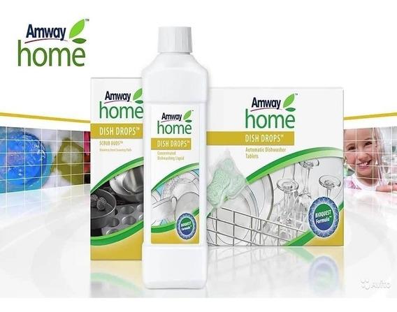 Kit Detergente Para Trastes Y Esponjas Amway Home
