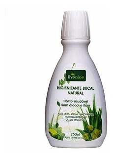 Higienizante Bucal Natural De Hortelã Live Aloe