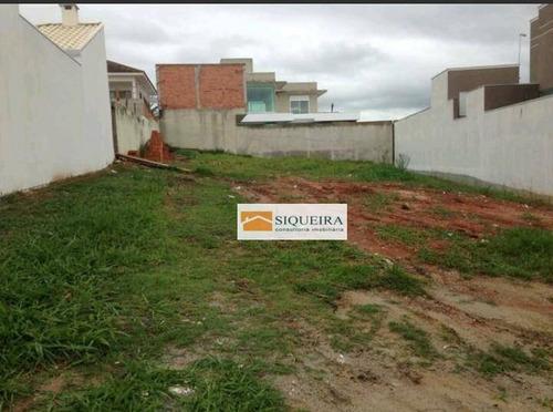 Terreno Residencial À Venda, Jardim Ibiti Do Paço, Sorocaba. - Te0287