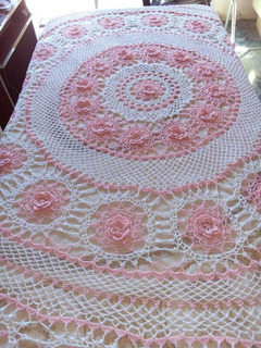 Mantel Redondo Crochet
