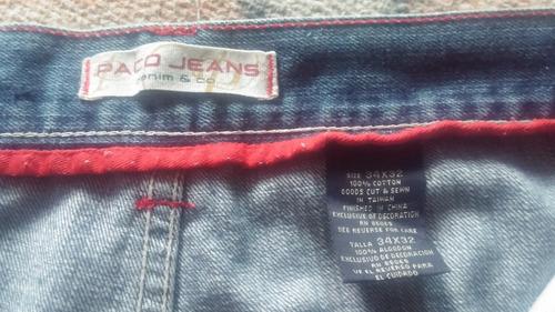 Pantalon Paco Jeans Mezclilla 34 X 32 Mercado Libre
