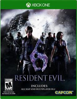 Resident Evil 6 Para Xbox One (en D3 Gamers)