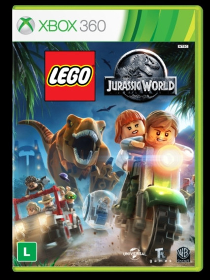Lego Jurassic Worlds Xbox 360 Mídia Digital Envio Imediato