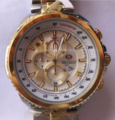 Máquina Japonesa - Novo-relógio Swiss Precimax Px14034 Elite