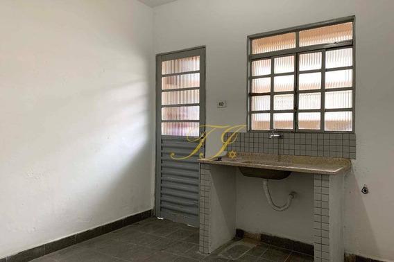 Casa Com 1 Dormitório Para Alugar Por R$ 650/mês - Vila Augusta - Guarulhos/sp - Ca0058