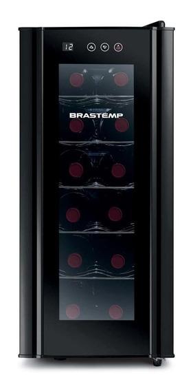 Adega Brastemp BZC12BE 220V preta
