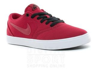 Tenis para Hombre Nike 11600 056120 Color Rojo negro
