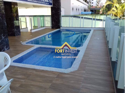 Imagem 1 de 15 de Apartamento Com 2 Dormitórios À Venda, 74 M² Por R$ 320.000,00 - Caiçara - Praia Grande/sp - Ap2058