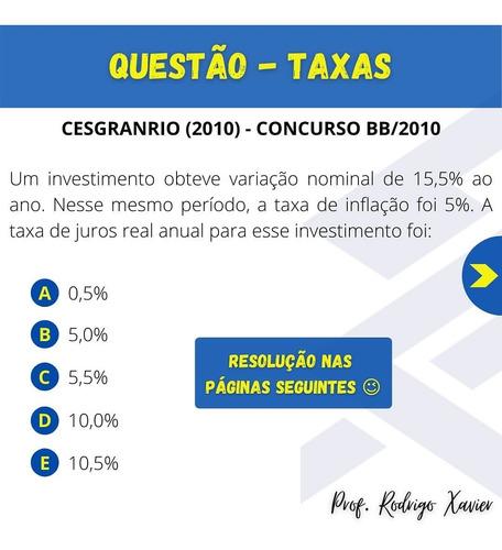 Imagem 1 de 5 de Matemática Financeira - Concurso Banco Do Brasil 2021