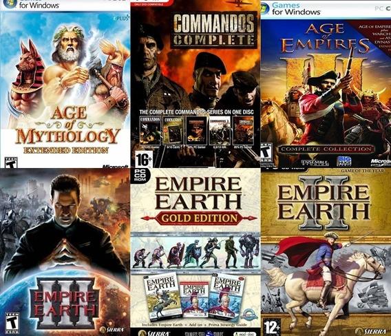 Coleção Jogos De Estratégia Pc - Mídia Digital