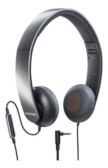 Fone De Ouvido Com Controle E Microfone Shure Srh145m Plus