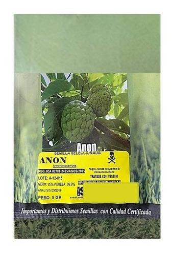 Semillas De Anon Por 5 Gr (planta Frutal)
