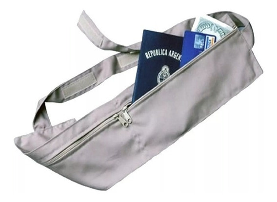 Portavalores Cinturón Doble Ajustable Con Abrojo 8620199