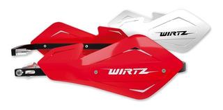 Cubre Manos Puños Tornado Xtz Crf Yzf Kxf Wirtz® Shock Metal