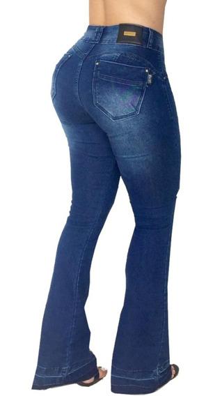 Calça Flare Set For Feminina Jeans Modela Bumbum Bojo