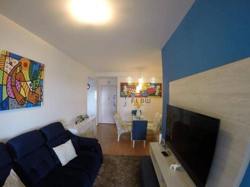 Apartamento 65m², 2 Dormitorios,  1 Vagas - Sacomã - Ap11027