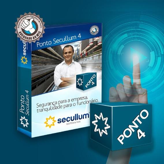 Ponto Secullum 4 Mensal C/ Suporte- Licença Original - Go