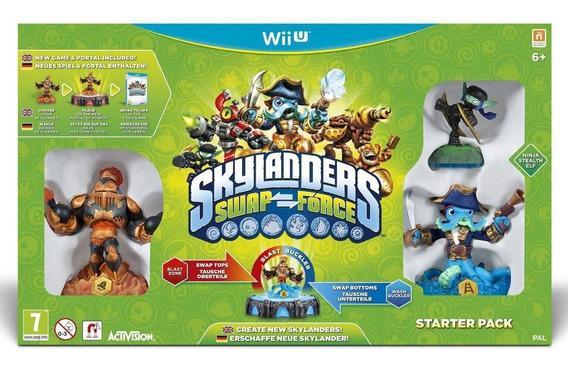 Box Skylander Swap Force Starter Pack Para Nintendo Wii U