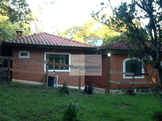 Chácara Com 3 Dormitórios À Venda, 7600 M² Por R$ 650.000 - Chácara Recreio Vista Alegre - Botucatu/sp - Ch0002