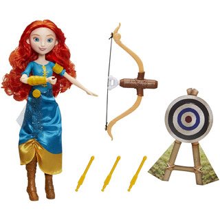 Muñeca Merida Arquera Aventurera Princesas Disney