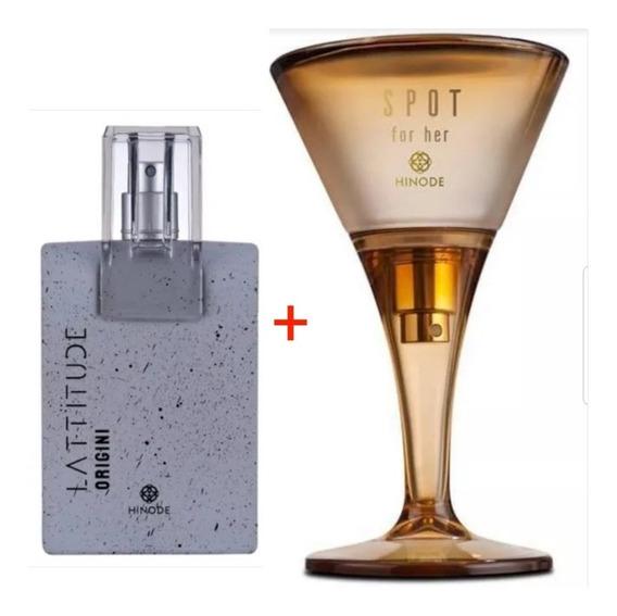 Kit Perfume Spot For Her - Latittude Origini Hinode