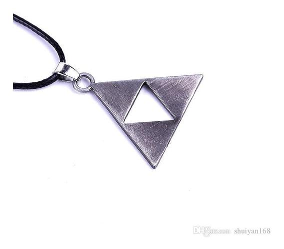Colar Zelda Pingente Triforce Cordão