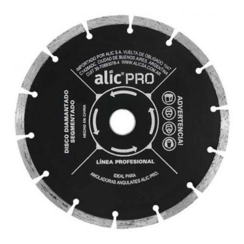 Disco Corte Amoladora 115mm Segmentado Alic Alto Rendimiento