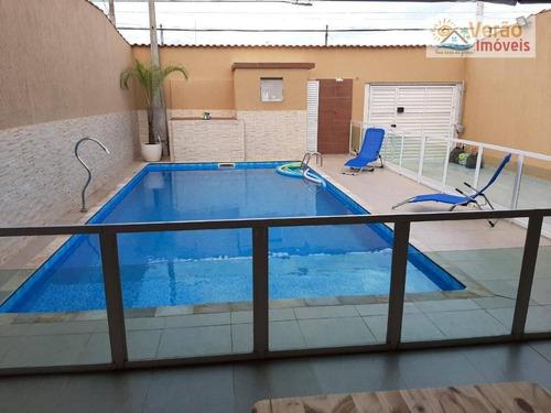Sobrado Com 5 Dormitórios À Venda, 320 M² Por R$ 749.000,00 - Parque Jequitiba - Itanhaém/sp - So0171
