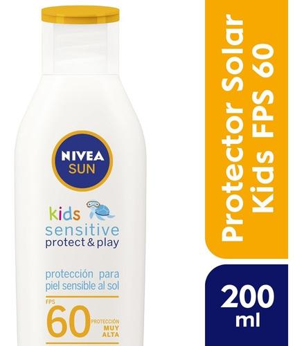 Nivea Sun Kids Sensitive Loción Fps 60+