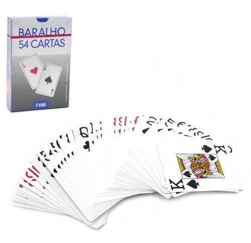 Kit 2 Deck De Baralho 108 Cartas Para Truco Mágica Pôquer