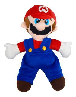 Peluche Mario Bros 30cm Super Galaxy World Kart All Stars 64