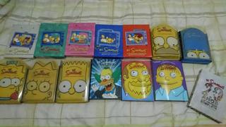 Coleção Simpsons Temporada 1 A 5 E 7 A 11 Semi Novas