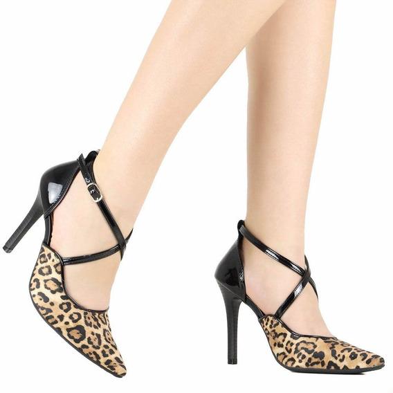 Sapato Feminino Via Marte Scarpin 19-9556