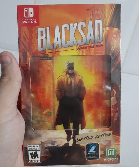 Blacksad Under The Skin - Edição Limitada - Nintendo Switch
